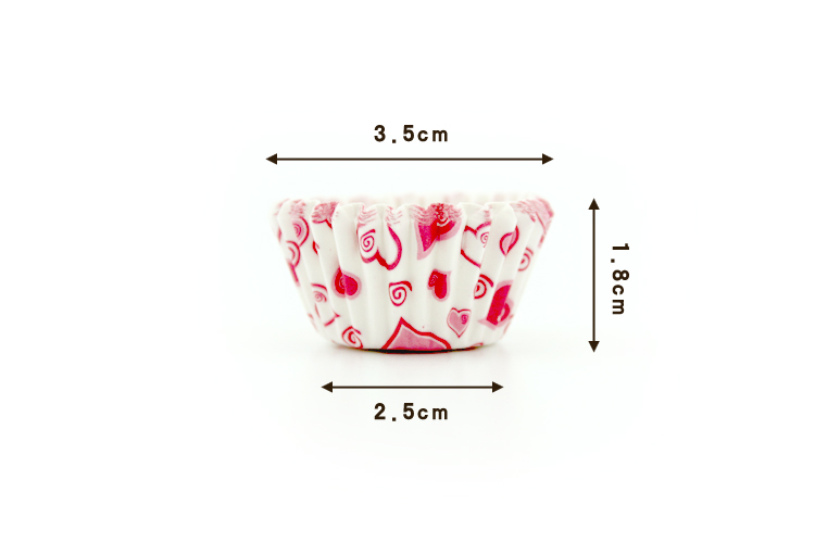 2016 Mix 4 Color 1000pcs/lot Pretty Design Wedding Brithday Christmas Cake Tools Paper Baking Cups Muffin Liners For Cupcake