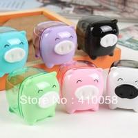 Promotion cheap discount korean style mini pencil sharpener, small animal design,MOQ one piece per parcel