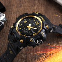 Men Sports Watches Men Quartz Analog LED Digital Clock Man Military Waterproof Watch