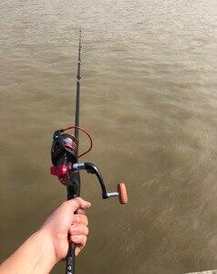 Image 2 - 1.8 3m carbone ultraléger dur court filature canne à pêche calmar appât coulée leurre canne bateau bâton de roche télescopique pôle pour carpe