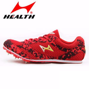 40323e77f670d HEALTH trail sports running shoes for men spike athletic spikes sprint  training sport