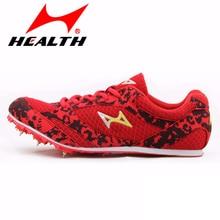 HEALTH trail sports running shoes for men spike athletic spikes sprint training sport men sport man