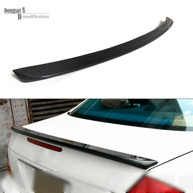 Mercedes E class e200 e250 e300 e350 e500 4 door sedan carbon fiber cf rear trunk wings spoiler for benz 2010 + w212 AMG style цена