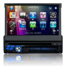 Single din 1 din 7″ Universal Car dvd Player Car Multimedia Video Player Car Stereo Radio Audio Bluetooth SWC IPOD TV USB
