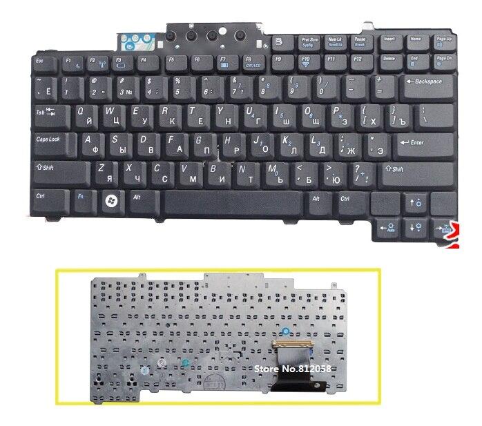 Helder Ssea Nieuwe Laptop Ru Russische Toetsenbord Voor Dell Latitude D620 D630 D631 D820 M65 D830 Pp18l Toetsenbord Voor Snelle Verzending