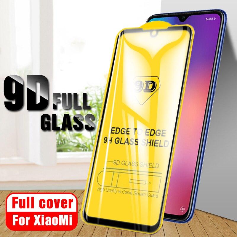 9D Full Cover Protective Film Tempered Glass For Xiaomi Mi 9 Glass A2 Mi 8 Lite 5X 6X Screen Protector For Xiaomi Mi 9 Glass