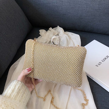 Fashion Women Evening Party Wallet Handbag Diamonds Elegant Purses Luxury Crystal Clutches Bridal Wedding Party Purses Bag 2019 цена