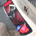 Vermelho / azul / preto 3 cor de bolso lateral de carro de Oxford pano de saco estiva arrumar
