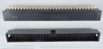 5 uds. Enrutada conector de caja, conector IDC de 2,54mm, 2x30 Pines, 60 P, macho recto, Pin cuadrado de 0,64mm, 2 filas, 2,54 DIP de agujero pasante