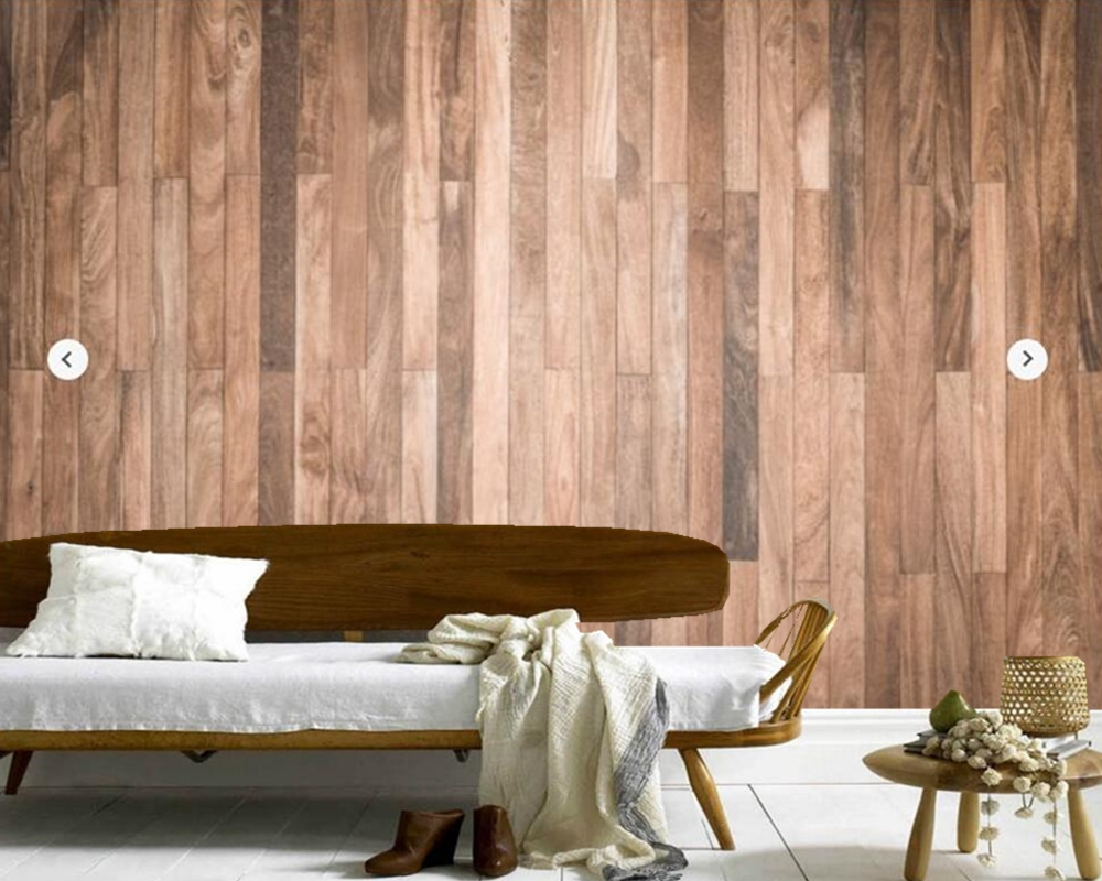 Living room wallpaper texture - Custom Texture Wallpaper Sanded Wooden Flooring Texture For Living Room Bedroom Restaurant Hotel Ktv Backdrop Decorative Paper In Wallpapers From Home