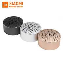 Original Xiaomi Bluetooth Mini Speaker Portable Wireless Bluetooth4.0 Stereo Handsfree Music Square Box