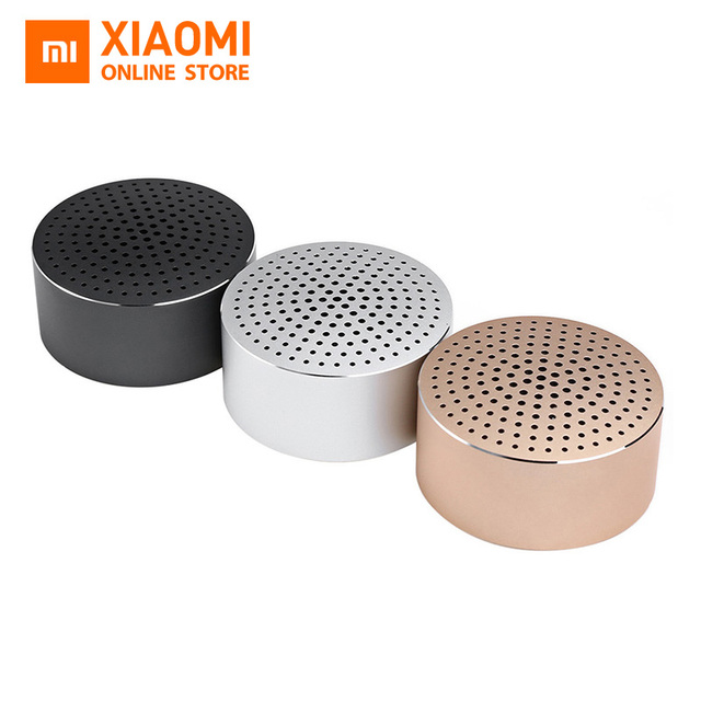 Original Xiaomi Bluetooth Mini Speaker Portable Wireless Bluetooth4.0 Stereo Handsfree Music Square Box