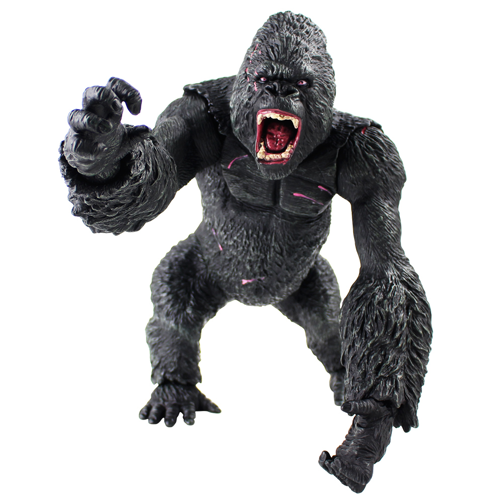 35cm King Kong Skull lsland Gorilla Monkey Figure Model Toys