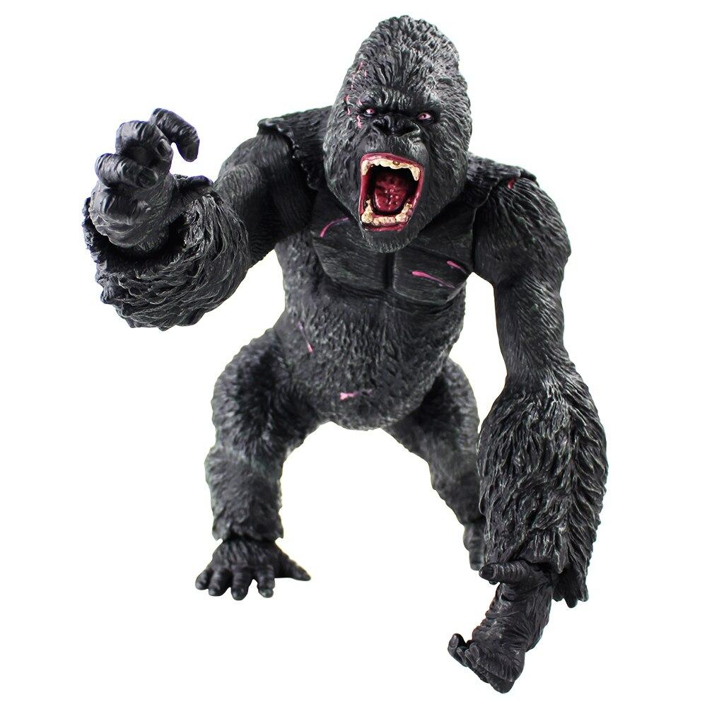 35 cm roi Kong crâne lsland gorille singe Figure modèle jouets
