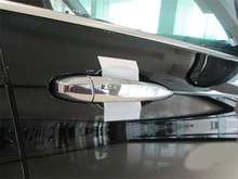 Car Styling!Only for Left-hand Drive!For BMW X5 F15 2014 2015 ABS Side Door Handle Cover Trim Set