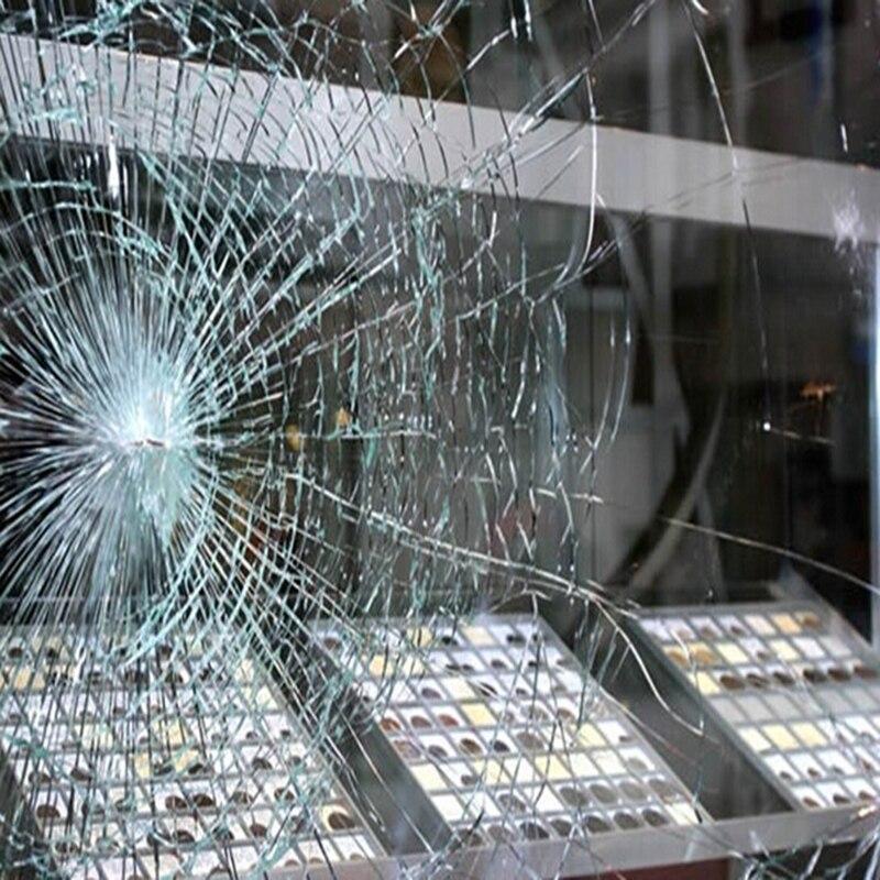 1.52*10 m 2mil clair film de sécurité anti-crash protection film fenêtre en verre film de protection pour fenêtre de la voiture et fenêtre de construction