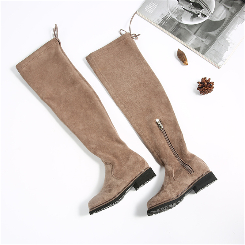Girls Style Over-The-Knee Boots Princess Fashionable Warm Cotton Shoes Kids Winter Non-Slip Soft Bottom Zip Boots AA51225Girls Style Over-The-Knee Boots Princess Fashionable Warm Cotton Shoes Kids Winter Non-Slip Soft Bottom Zip Boots AA51225