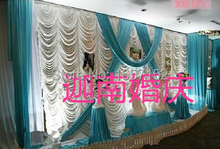 Luxurious wedding backdrop Sequins curtain Backdrop for Wedding Decoration 10ft*20ft High Grade Stage background