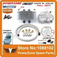 Oil Cooler CG125 CG150 CG250 125cc 150cc 250cc Radiator Cooling Parts Fit Motorcycle Dirt Bike ATV Free Shipping