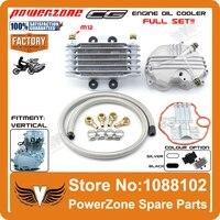 Medium Size Oil Cooler Radiator Cooling Parts Fit CG125CC CG150cc Vertical Motorcycle Engine Dirt Bike ATV