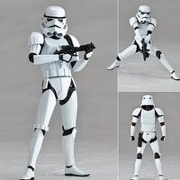 Star Wars Action Figures Single Sale 002 Stormtrooper with Gun Weapons Kids DIY Gift Toys Storm Trooper Model Toys Doll