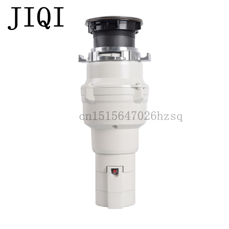 JIQI Household Food Waste Disposer With cord 375W power Fast and Easy Stainless steel Grinder material