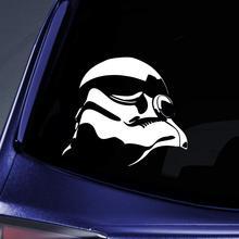 Bargain Max Decals - Stormtrooper SW Parody Sticker Decal Notebook Car Laptop 6 (White)