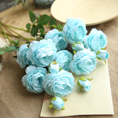 peony artificial roses flowers (8)