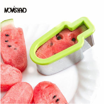 Creative Popsicle Model Watermelon Slicer Melon Cutter Kitchen Tool форма для нарезки арбуза