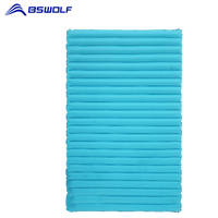 BSWolf Camping Mat Picnic Inflatable Mattress Fast Filling Air Moistureproof Beach Mat Sleeping Pad Outdoor Air Bed