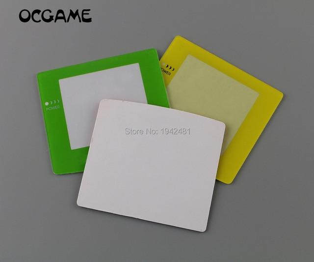 OCGAME 8 teile/los Hohe qualität Kunststoff Farben Bildschirme für Gameboy Farbe GBC Reparatur Zubehör Objektiv Abdeckung für GBC Konsole