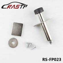 RASTP 1Pcs/Set Stainless Chrome Door Poppers Trunk Popper Street Rod For Toyota Corolla RS3-FP023