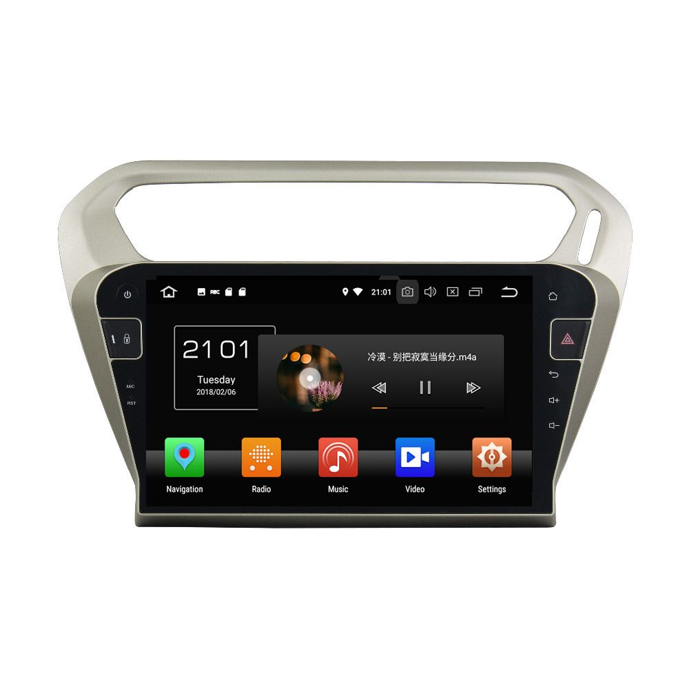 """Flash Deal 10.1"""" Octa Core Android 9.0 8 core 64G ROM 4G RAM Car DVD Player for Peugeot PG 301 2013-2016 Citroen Elysee GPS Radio 0"""
