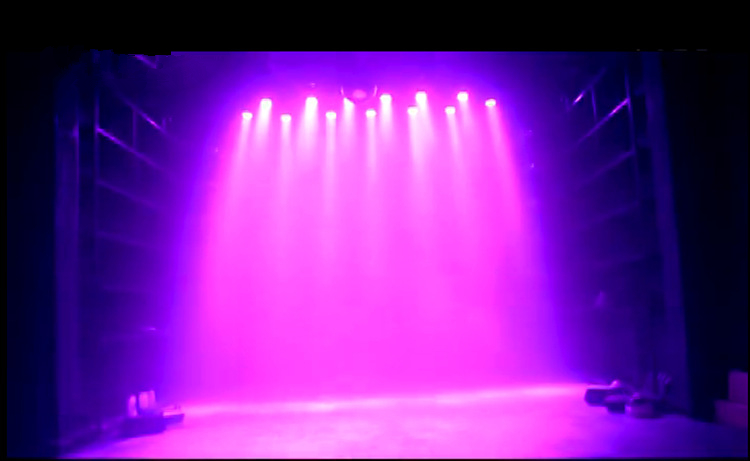 DBFLED Stage Lights 36 RGB PAR LED DMX Lighting Effect DMX512 Master Slave Led Flat Par For DJ Disco Party KTV In From