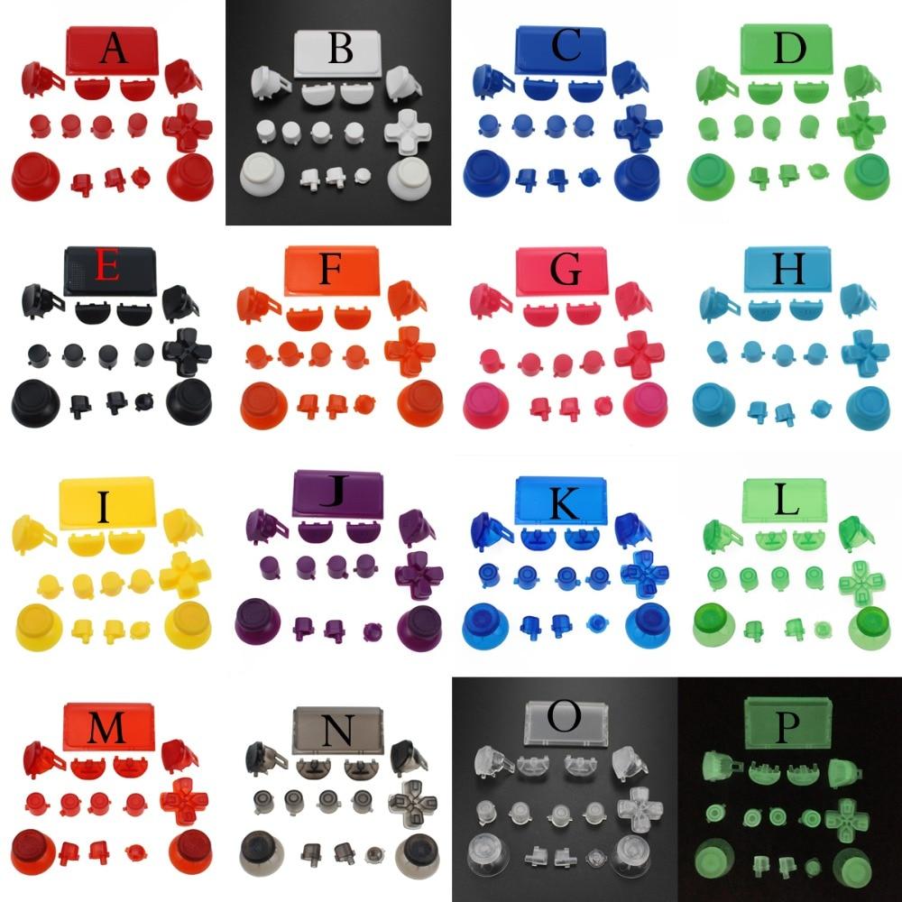 For PlayStation Dualshock 4 PS4 Pro Controller JDS-040 JDS040 R2 L2 R1 L1 Trigger Dpad Buttons Mod Kit - Green Black Red