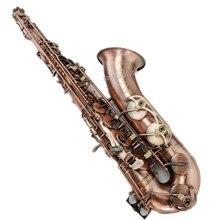 Профессиональный Selmer France бренд B плоским тенор-саксофон музыкальные инструменты Sax ушка ключ вырезать шаблон с случае перчатки