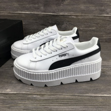 PUMA FENTY Suede Cleated Creeper Women First Generation Rihanna Classic  Height Increasing Tone Simple Badminton Shoes 26be61ac5
