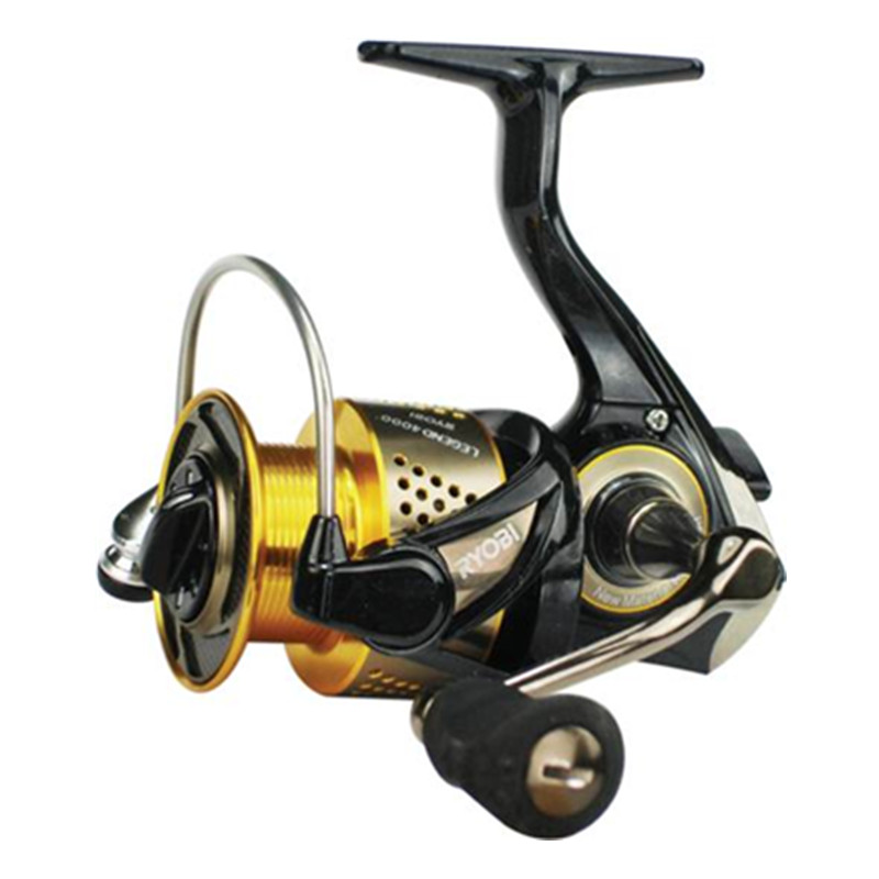 ФОТО Free Shipping 100% Original Japan RYOBI Wheel Cheap Spinning Fishing Reel  6BB/5.1:1Carretes Pesca Moulinet Peche Carretilha