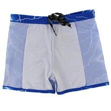 CV Male Lightning Swimming Trunks Boxer Shorts Plus Size