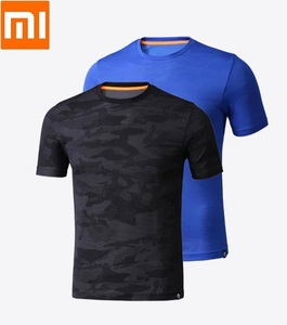 Image 1 - Xiaomi PROEASE fashion Man camouflage Short sleeve t shirt Moisture absorption Quick drying Four sided stretch Sweatshirt