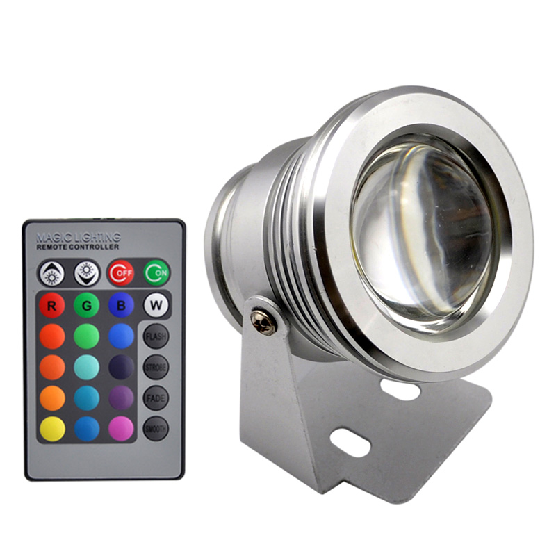 Underwater Led Flood Light 10w Warm White Cool Rgb
