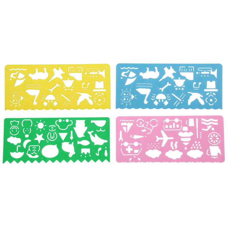 4 pz/set Magia Della Carta Gioco Da Tavolo di Colore Scratch Art Gioco di Carte Artigianato Carte Tavolo Da Disegno Giochi per la Famiglia Dei Bambini Divertente gioco da tavolo