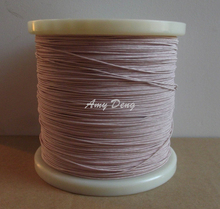 100meters/lot Free shipping 0.1×40 shares its antenna Litz strands of polyester envelope is sold by the metre copper wire