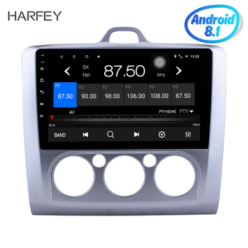 Harfey car multimedia player GPS Navi Radio for 2004-2011 Ford Focus 2 Auto 9 inch Android 9.1 Bluetooth SWC 3G WIFI AUX RDS image