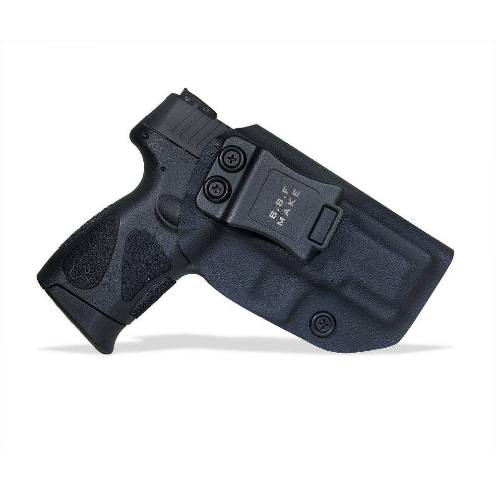B.B.F Make IWB KYDEX Gun Holster Fits: Taurus PT111 G2C / PT140 Pistol Case Inside Concealed Carry Guns Pouch Accessories Bags