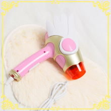 Cosplay Card Captor Sakura Action Figure Folding Cartoon Birds Head Star Magic Wand sailor moon Pink Third Gear Wind Hair Dryer