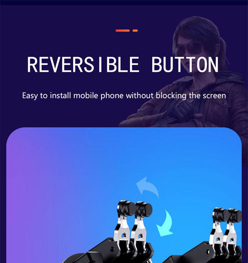Controlador PUBG gatillo de juego móvil 4