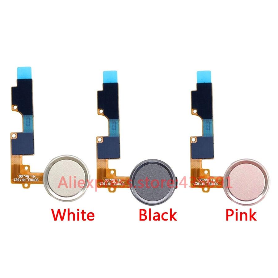 For LG V20 Original Touch ID Home Menu Button Fingerprint Sensor Power Key Flex Cable 10Pcs/lot Assembly Replacement Parts