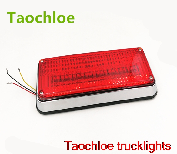1x 12v 24v led flashing strobe lights lights  for ambulance pumper engines lamps police patrol Perimeter light 198x90x38mm 738-in Car Light Assembly from Automobiles & Motorcycles    1