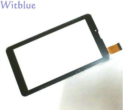 Witblue New For 7 FinePower E2 3G Tablet touch screen panel Digitizer Glass Sensor replacement Free Shipping witblue new touch screen for 9 7 oysters t34 tablet touch panel digitizer glass sensor replacement free shipping